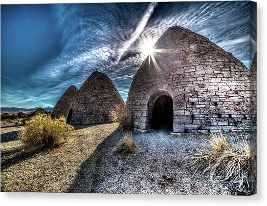 Ely Charcoal Ovens Canvas Print by Bryan Moore