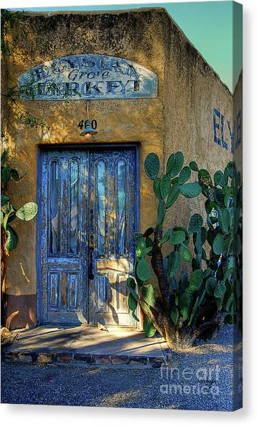 Elysian Grove In The Morning Canvas Print