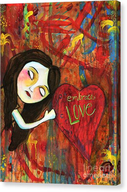 Embrace Love Canvas Print