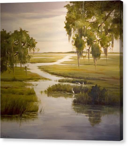 Embrace The Solitude Canvas Print