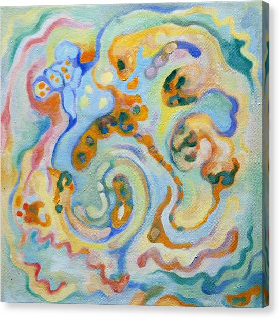 Embryonic Forms 4 Canvas Print