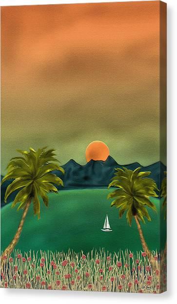 Emerald Bay Canvas Print