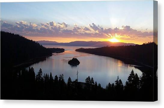 Emerald Bay Sunrise Canvas Print