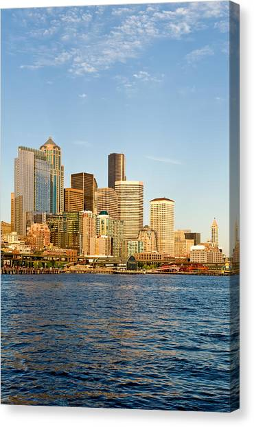 Emerald City Canvas Print by Tom Dowd