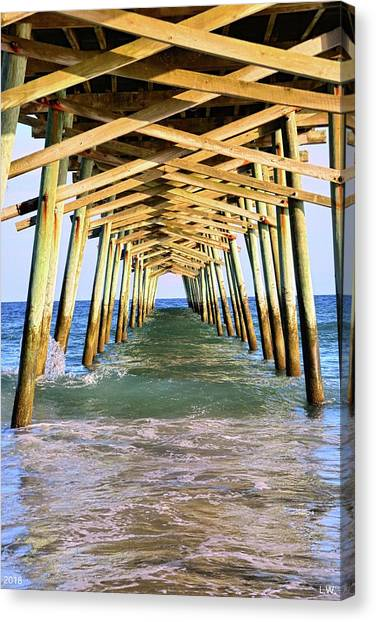 Emerald Isles Pier Canvas Print