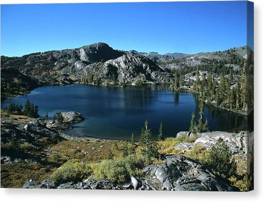 Emerald Lake From Jmt  Canvas Print