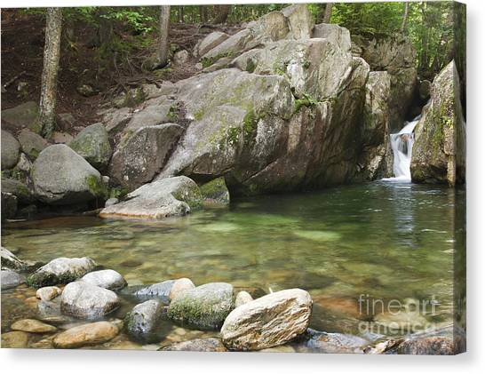 Emerald Pool - White Mountains New Hampshire Usa Canvas Print
