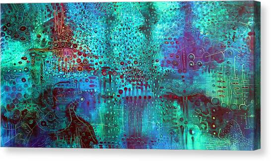 Emerald World Canvas Print