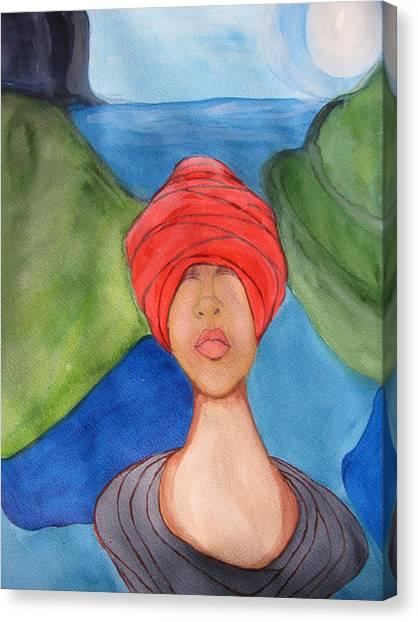 Emergence Canvas Print by Lindie Racz