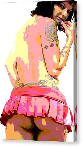 Emgee Canvas Print