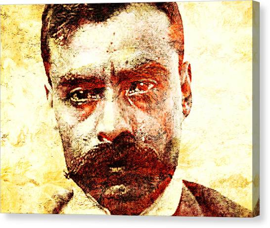 Emiliano Zapata Canvas Print