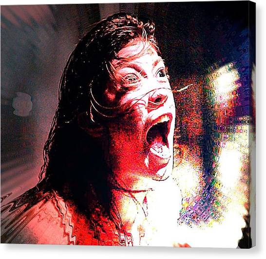 The Exorcist Canvas Print - Emily Rose by John Prestipino