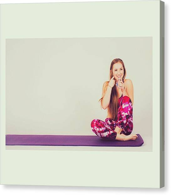 Yogi Canvas Print - @emilymsmith49 @marine.mp.one by David Haskett II