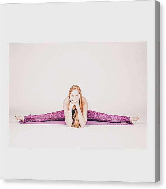 Yogi Canvas Print - @emilymsmith49 The #yoga #yogi #fitness by David Haskett II
