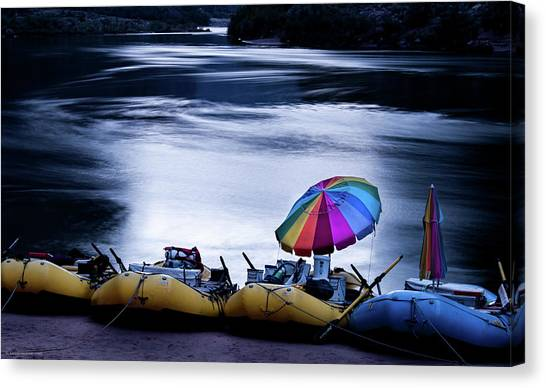 Eminence Camp Umbrella  Canvas Print