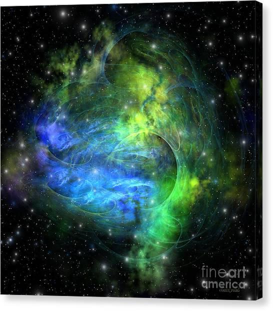 Stellar Canvas Print - Emission Nebula by Corey Ford