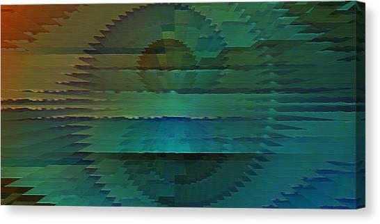Radio Emission Canvas Print