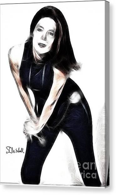 Emma Peel #1 Canvas Print