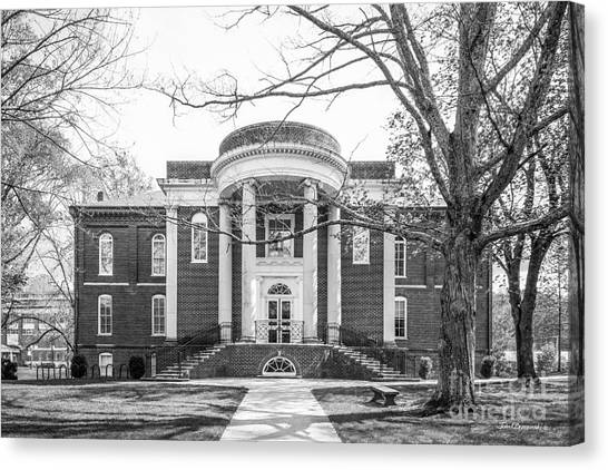 Emory University Canvas Print - Emory And Henry College Byars Hall by University Icons