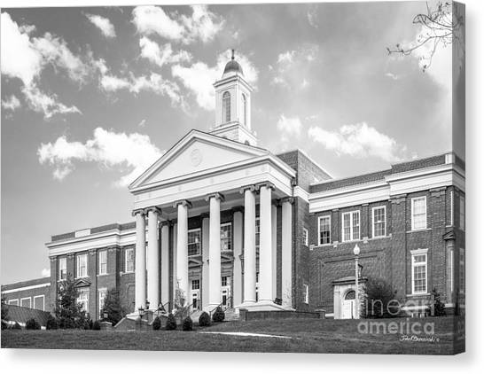 Emory University Canvas Print - Emory And Henry College Wiley Hall by University Icons