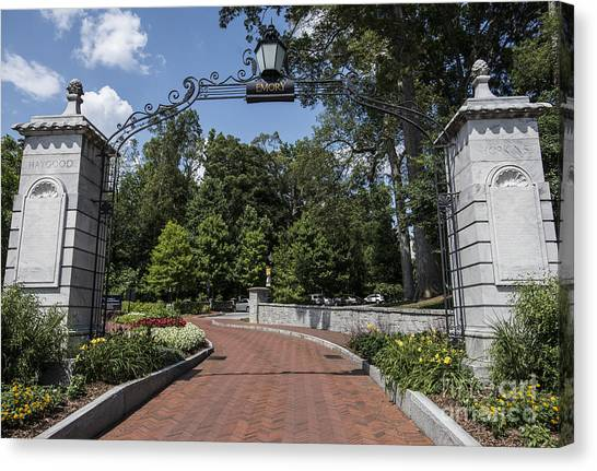 Emory University Canvas Print - Emory University by David Bearden