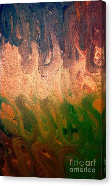 Emotion Acrylic Abstract Canvas Print