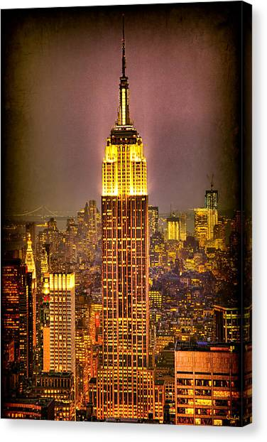 Empire Light Canvas Print