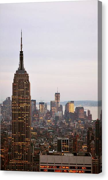 Empire State Building No.2 Canvas Print