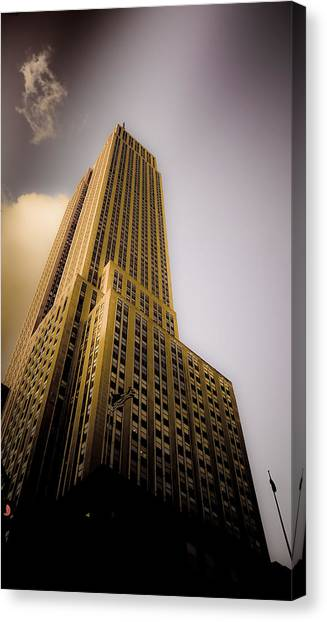 Empire State Building Canvas Print by Patrick  Flynn