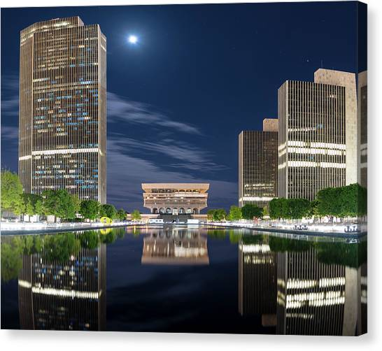 Empire State Plaza Canvas Print