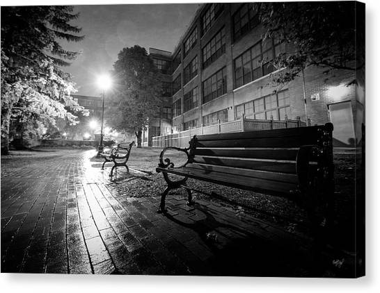 Syracuse University Canvas Print - Emptiness by Everet Regal