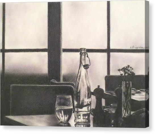 Empty Glass Canvas Print