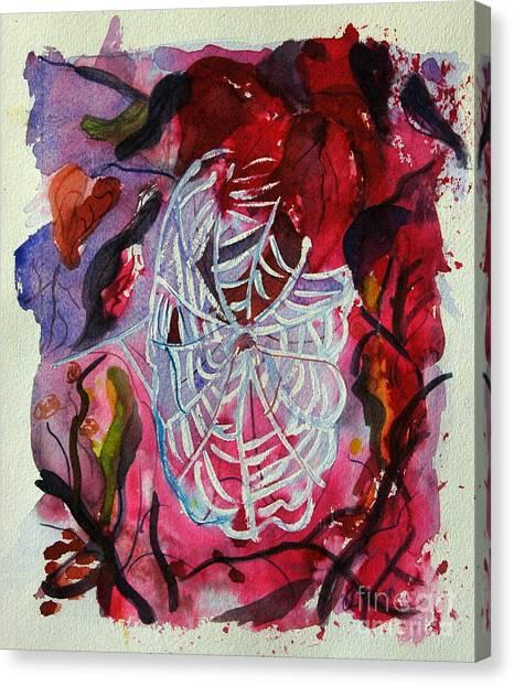Empty Nest Canvas Print by Stephanie Allison