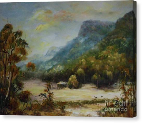 Emu Plains, Grampians Canvas Print