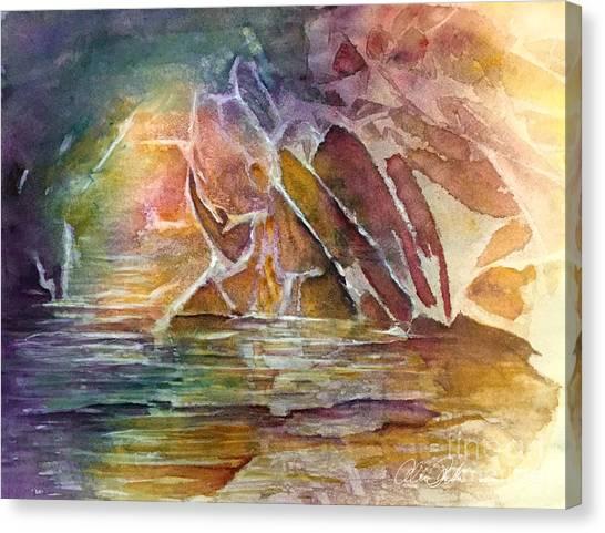 Enchanted Cavern Canvas Print