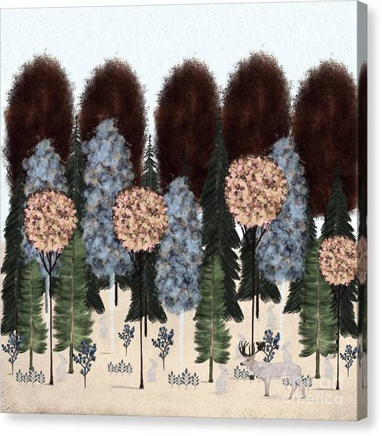 Woodland Canvas Print - Enchanted by Bri Buckley