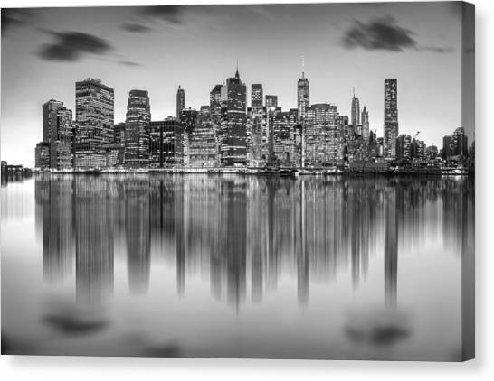 New York Skyline Canvas Print - Enchanted City by Az Jackson