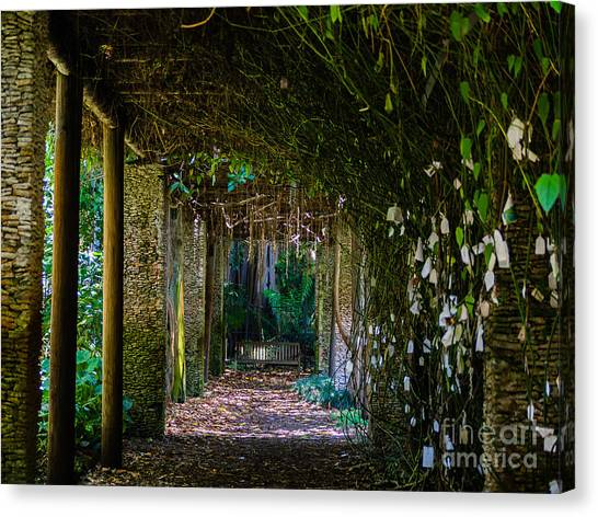Enchanted Entrance Canvas Print