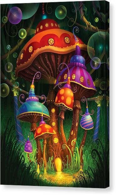 Enchanted Evening Canvas Print by Philip Straub