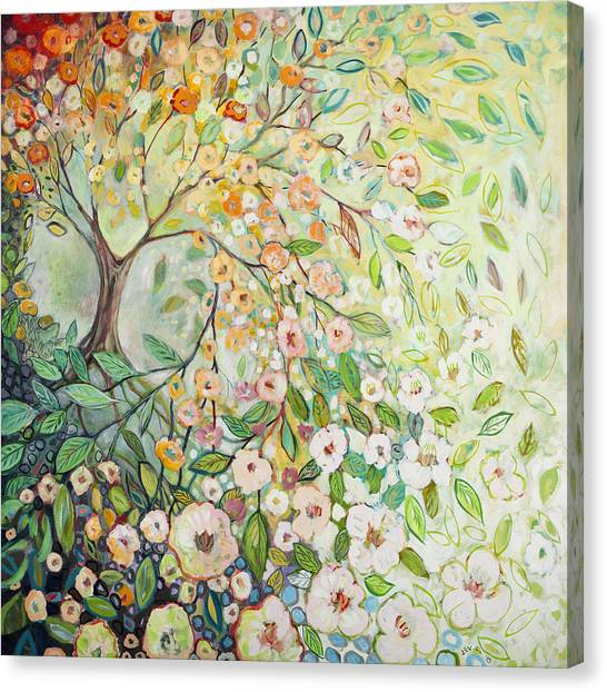 Spring Trees Canvas Print - Enchanted by Jennifer Lommers