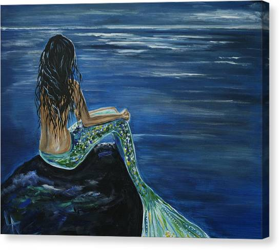 Enchanted Mermaid Canvas Print