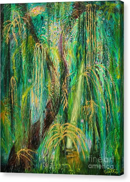 Canvas Print - Enchanted Rain Forest by Anne Cameron Cutri