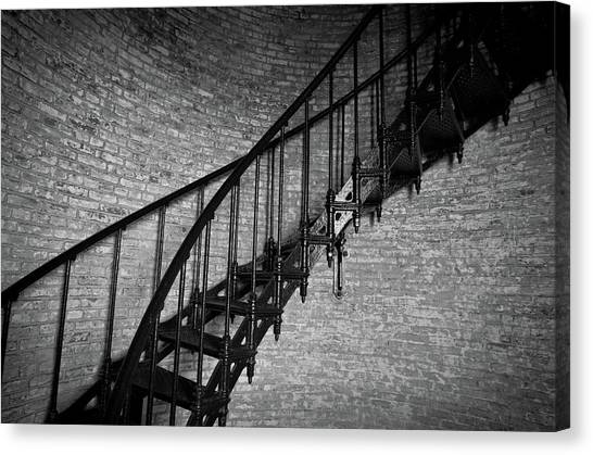 Enchanted Staircase II - Currituck Lighthouse Canvas Print