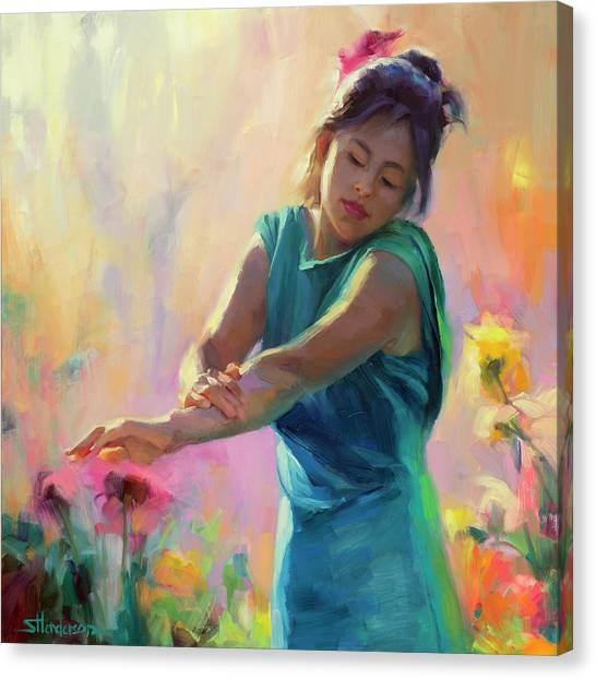Innocent Canvas Print - Enchanted by Steve Henderson