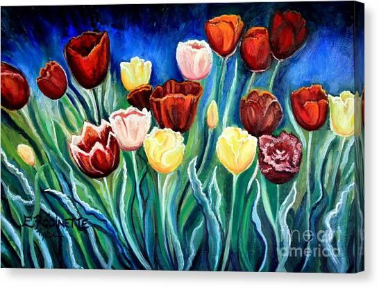 Enchanted Tulips Canvas Print
