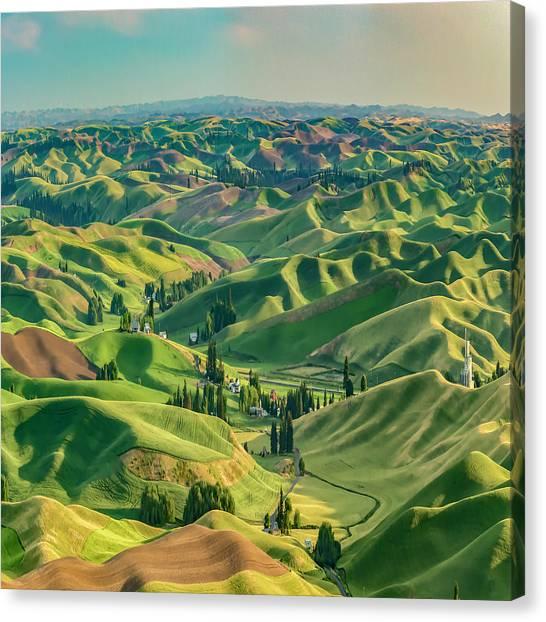 Enchanted Valley Award Winner Canvas Print