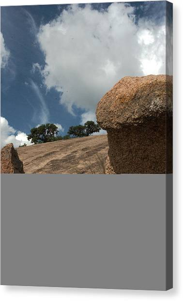 Enchanting Rocks Canvas Print