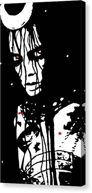 Decor Canvas Print - Enchantress Remix by Katrina Britt
