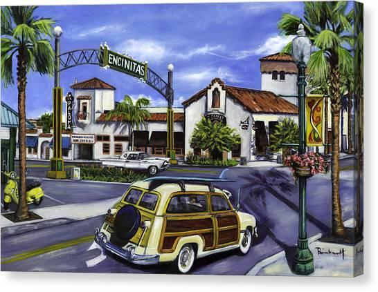 Encinitas Dreaming Again Canvas Print