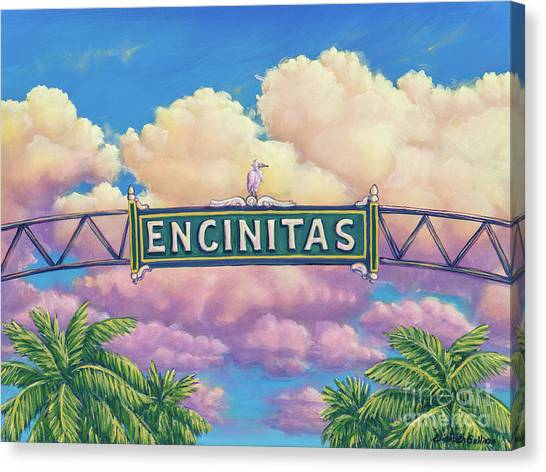 Encinitas Sunset Canvas Print